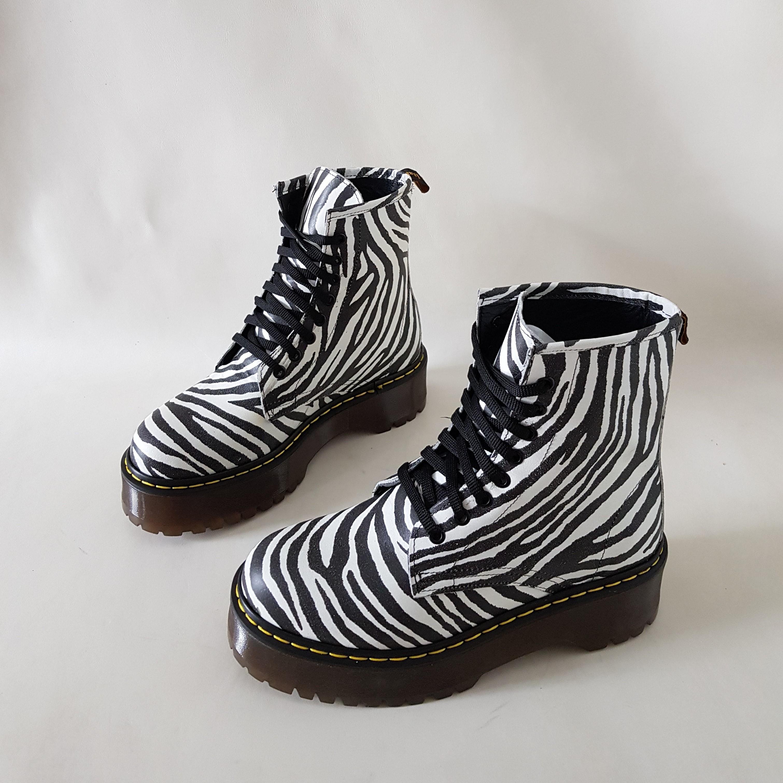Stivaletti lacci pelle zebrata oxford - Lia diva scarpe ...