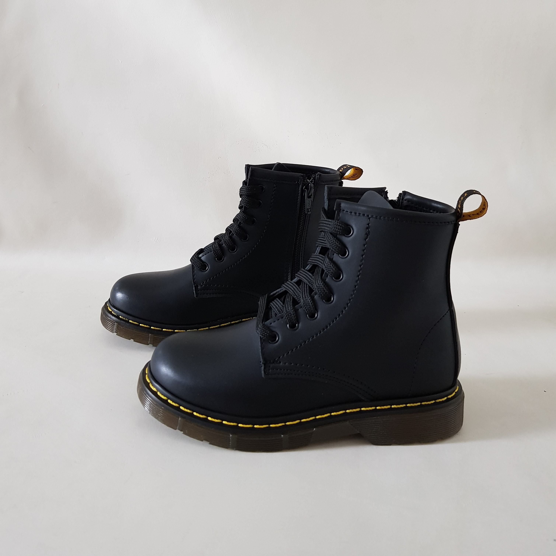 Stivaletti lacci bimba pelle nero oxford - Lia diva scarpe ...