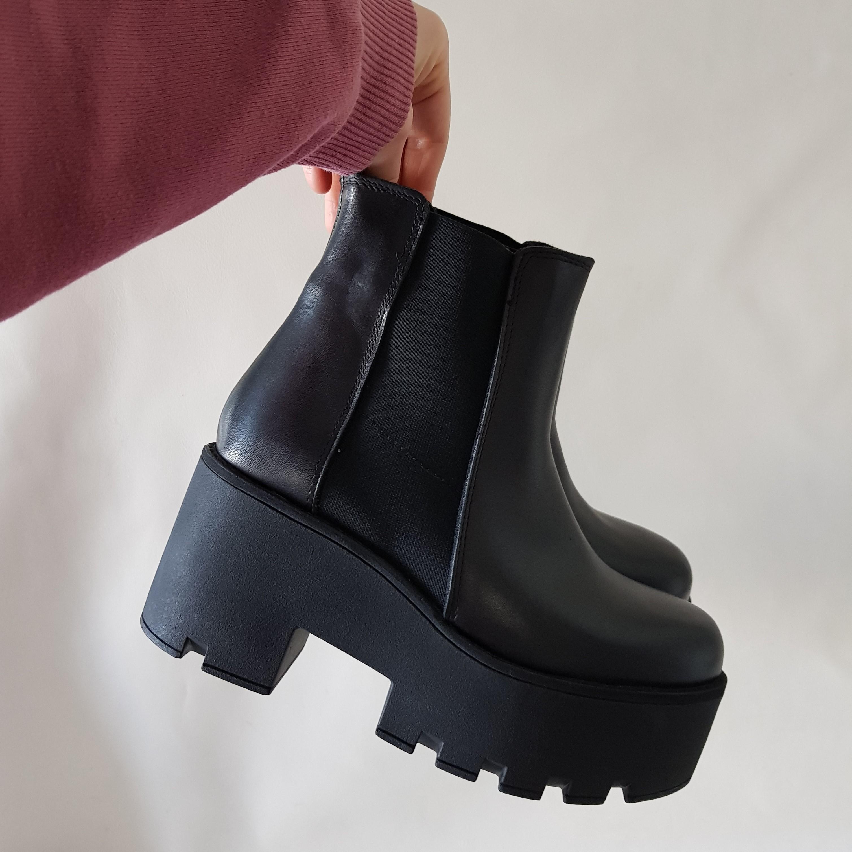 Stivaletti pelle nero monday - Lia diva scarpe ...