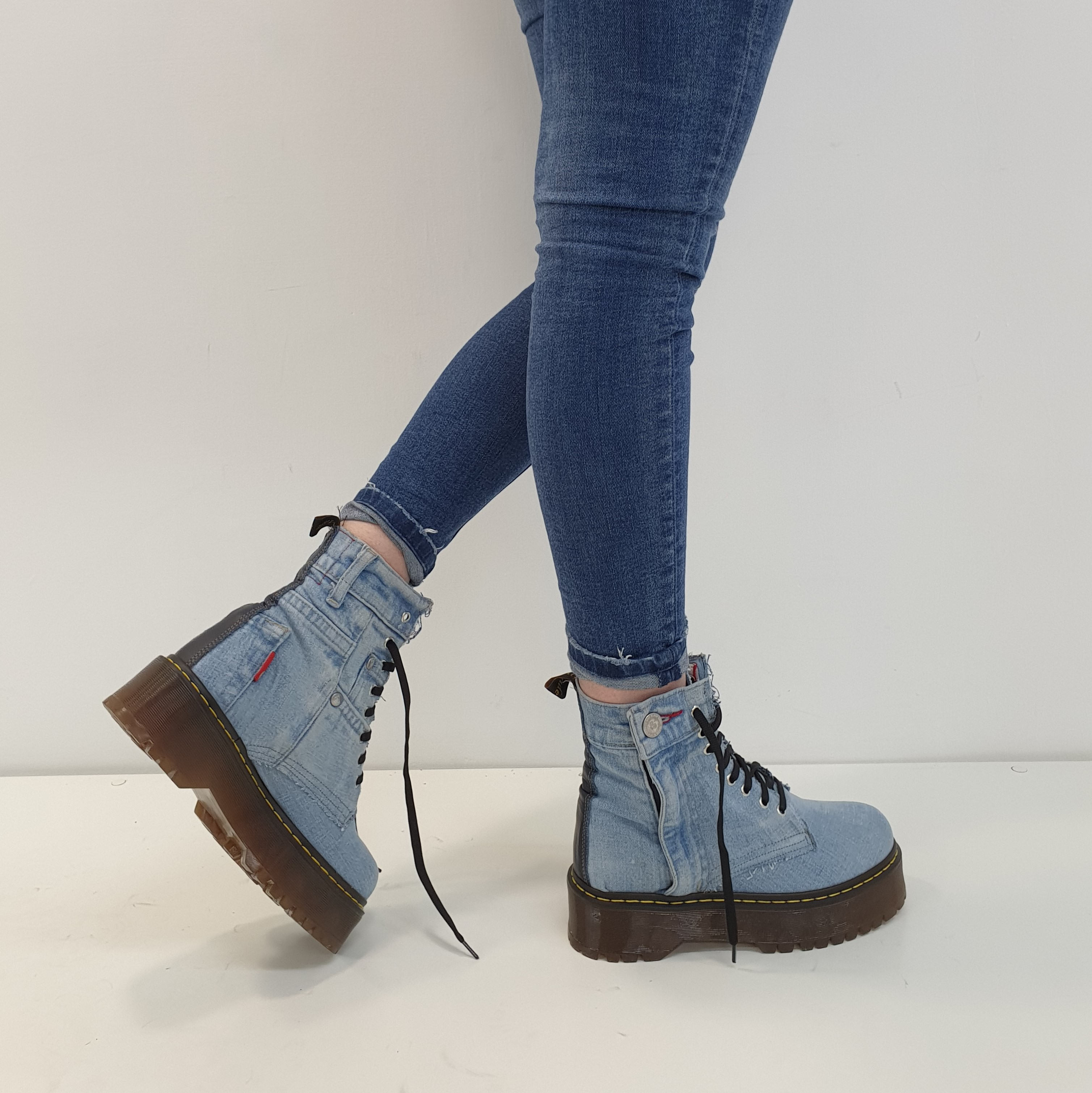 Stivaletti lacci jaens chiaro bottone oxford - Lia diva scarpe ...